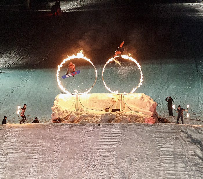 Fire Ice Show Whistler