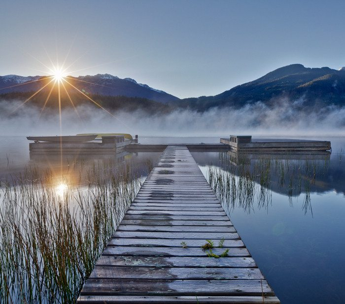 Whistler Alta Lake Sunrise