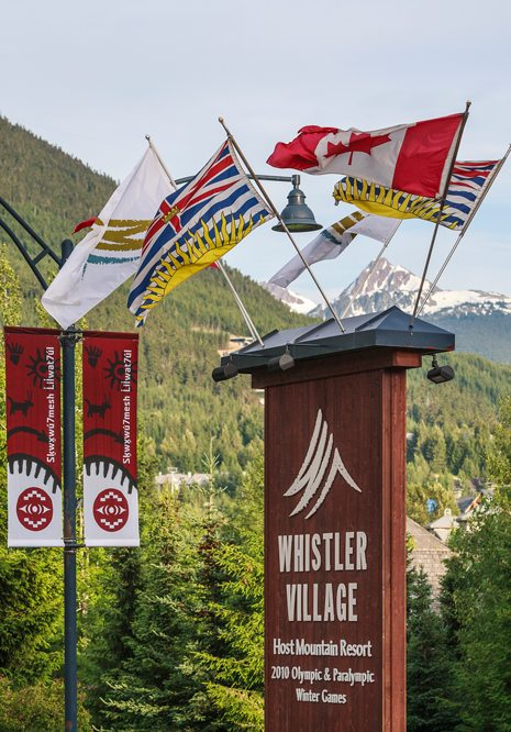 Whistler Village Welcome