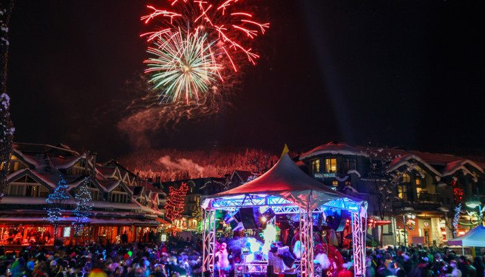 Our Top Picks for Spending New Year's Eve in Whistler