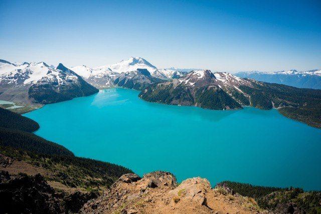 Garibaldi Lake in Garibaldi Provincial Park