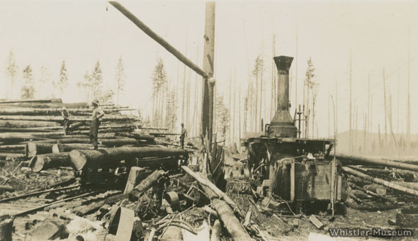 Whistler's Ghost Town