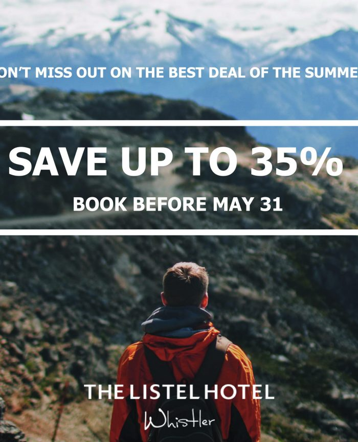 Summer 2019 – Book Now and Save up to 35%!