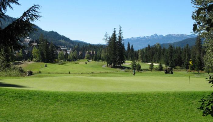 Golfing in Whistler