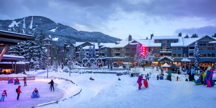 Spending the Holidays in Whistler