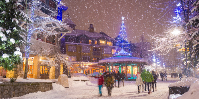 The Whistler Village Winter Experience