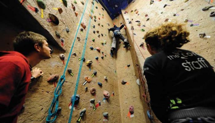 Climbing at The Core