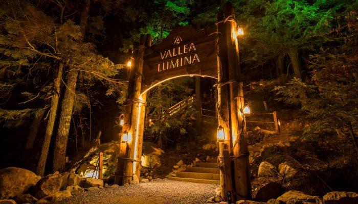 Entrance to Vallea Lumina Whistler