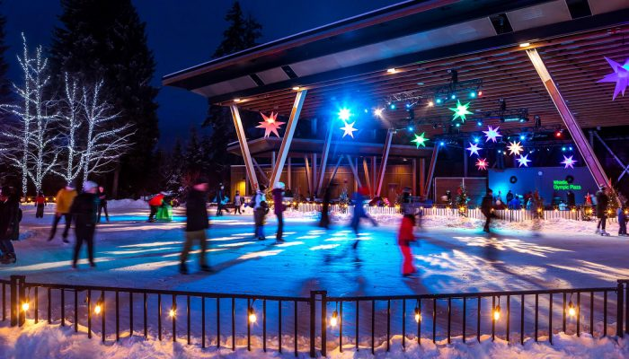 Whistler Olympic Plaza Ice Rink