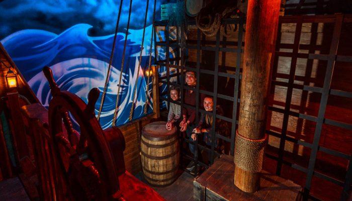 Whistler's Pirate Ship Escape Room